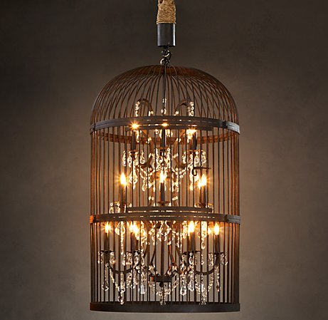 Bird Cage Chandeliers Parrot Nation