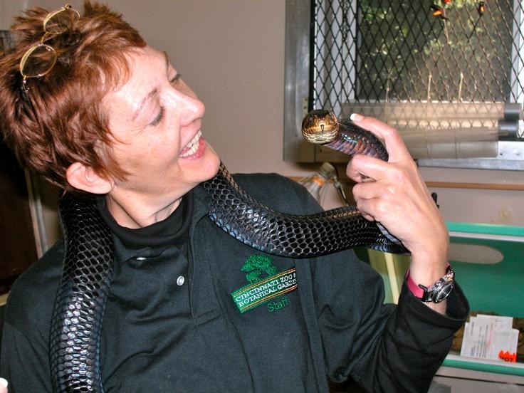 Patricia Sund Black Indigo Snake