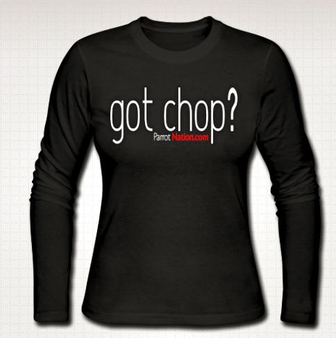 Chop womens longsleeved shirt