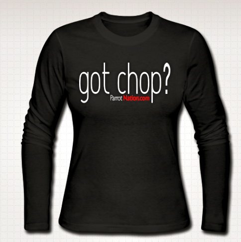 Chop womens longsleeved shirt